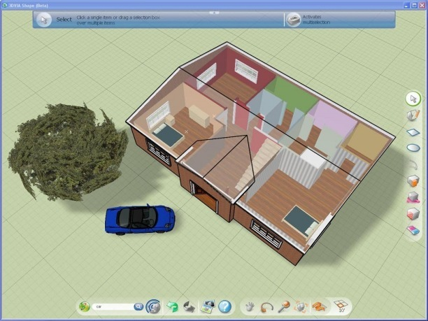 Programas para dise ar casas en 3d gratis construye hogar for Hacer casas en 3d online