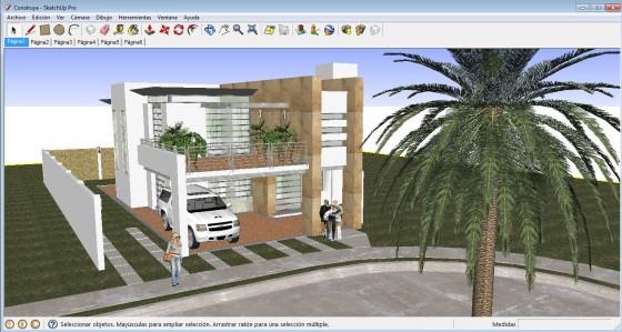 Sketchup aplicación 3D