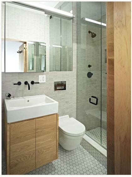 Dise o de peque o cuarto de ba o moderno construye hogar for Disenos de cuartos pequenos