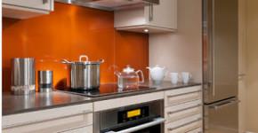 Diseño de cocina pequeña lineal
