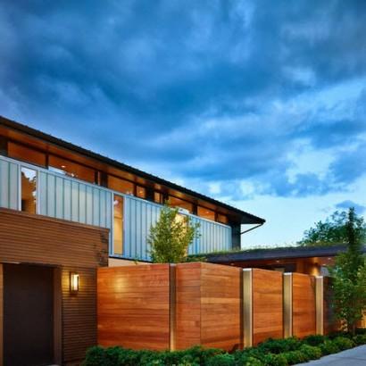 Cercos para casas por DeForest Architects