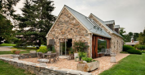 Exteriores de una casa remodelada