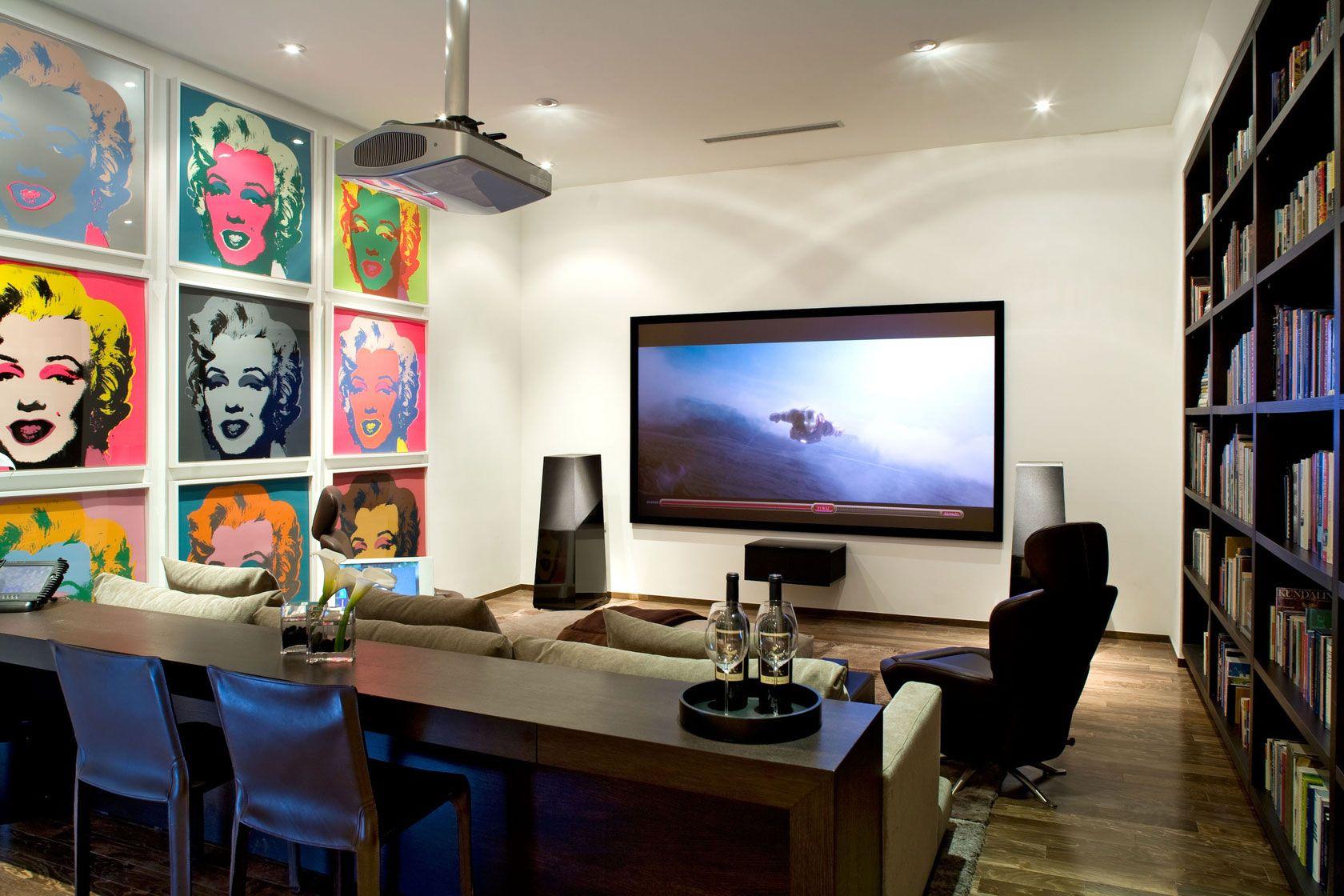 Dise o de moderna casa de dos pisos planos construye hogar - Tv en habitacion ...