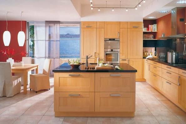 40 dise os de modernas islas de cocina ideas con fotos for Imagenes de muebles de cocina de madera
