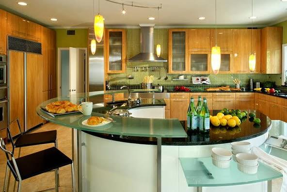 40 dise os de modernas islas de cocina ideas con fotos - Islas de cocina moviles ...