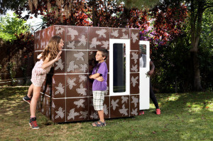 Diseño de casa calada para niños