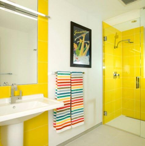 Diseño de cuarto de baño 4