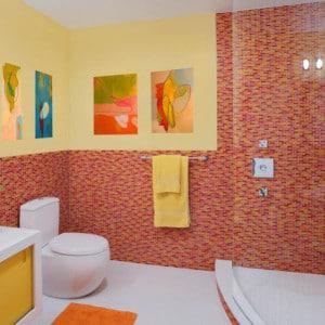 Diseño de cuarto de baño de Eisner Design LLC