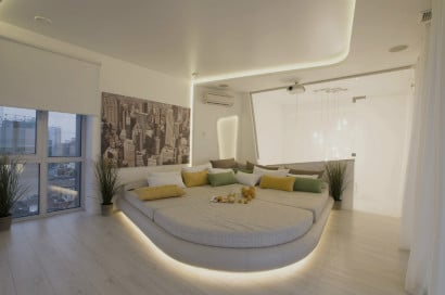 Ultra moderno diseño de dormitorio