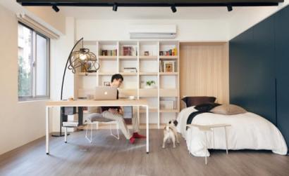 Vida en el apartamento pequeño