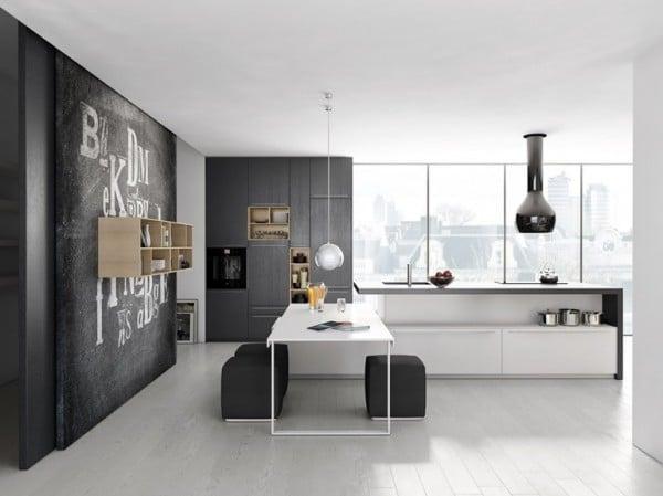 dise o de cocina gris y blanco minimalista 2 construye hogar