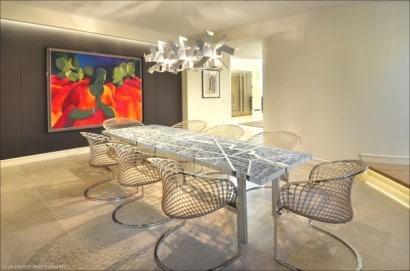 Diseño de interiores, Comedor de lujo