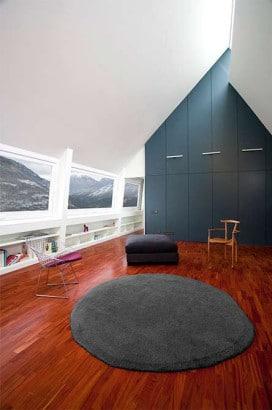 Diseño de interiores de casa en los pirineos