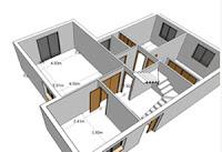 Casas de dos pisos y tres dormitorios construye hogar for Aplicaciones para construir casas