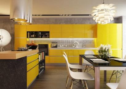 cocinas con contraste diseos y fotos para inspirarte en remodelacin