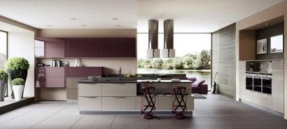 Diseño de cocina contemporánea al estilo arte pop 2