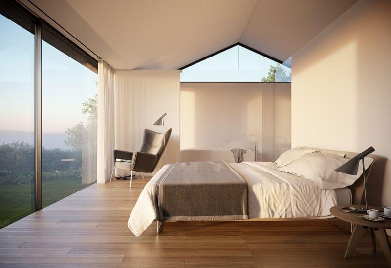 Dise o de casa moderna de 2 pisos y dise o de interiores - Casas modernas interiores diseno ...