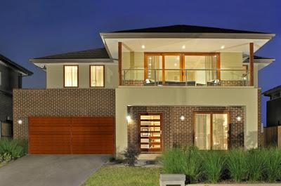Fachadas de casas modernas estilo oriental construye hogar for Modelos de fachadas para casas de 2 pisos