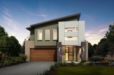 Dise o de casa peque a moderna fachadas y planos for Disenos de fachadas de casas pequenas