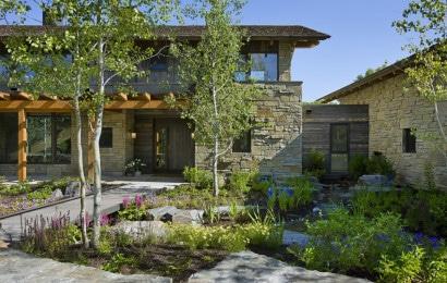 Perfil de vivienda de piedra