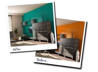 Casas de playa construye hogar - Elegir color paredes ...