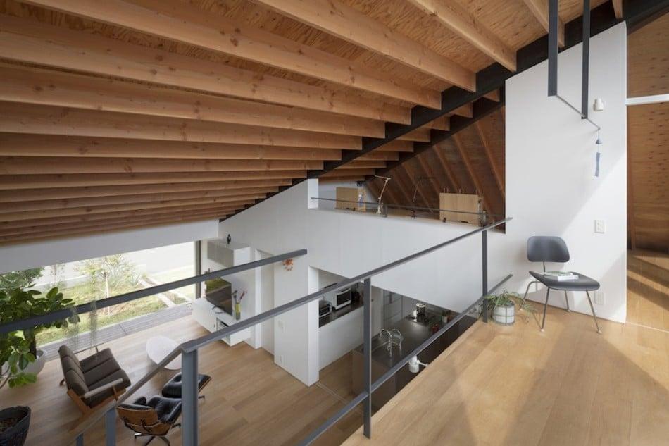 Dise O De Casa Moderna De Un Piso Con Techo En Pendiente Construye Hogar