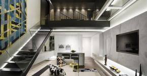 planos de departamentos de 3 habitaciones construye hogar. Black Bedroom Furniture Sets. Home Design Ideas