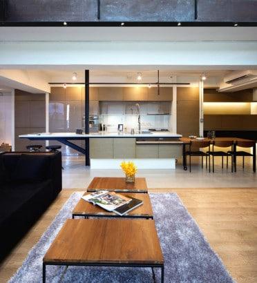 Cocina del loft