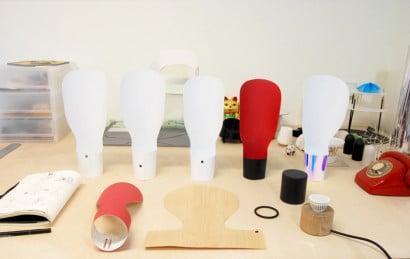 Como hacer lámpara de papel moderna
