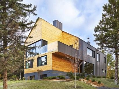 Diseño de casa de dos pisos mas sótano