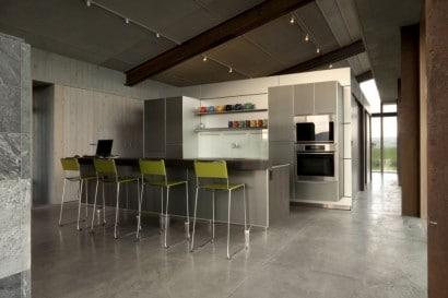Diseño de cocina en casa pequeña