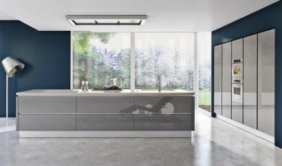 Diseño de cocina moderna estilo industrial 6