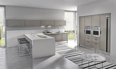 Diseño de cocina moderna minimalista