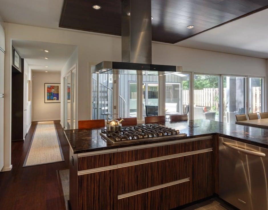 Dise o de cocina peque a moderna construye hogar - Cocina pequena moderna ...