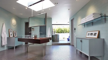 Diseño de cuarto de baño de famosos