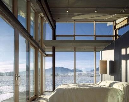 Diseño de dormitorio en casa pequeña