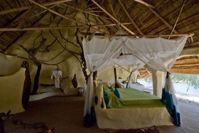 Diseño de dormitorio rústico 2