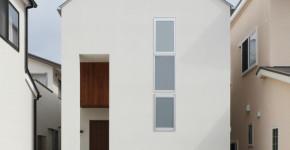 planos de casa de dos pisos con diseo de fachada e interiores de lineas sencillas y modernas