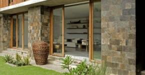 diseo de casa rstica aprende a decorar con materiales autctonos el interior y fachada