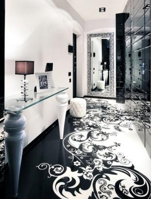 Diseño de hall de apartamento
