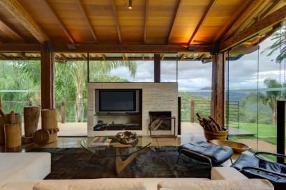 Diseño de interiores estar tv