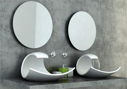 Diseño de lavabo Eaux Eaux Sink por Joel Roberts