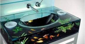 Diseño de lavabo acuario Jessicamullan Tumblr