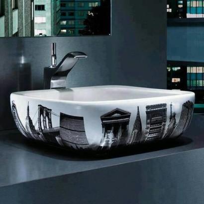 Diseño de lavabo moderno Audrey Chang Pinterest