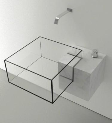 Diseño de lavabo transparente Alex-quisite Tumblr