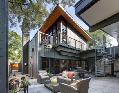 Diseño de patio de casa pequeña