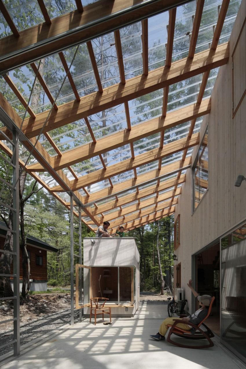 Dise o de casa para climas c lidos y fr os construcci n for Techos de madera para casas