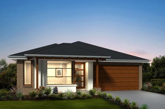 Planos de casas de un piso [fachadas y planos de planta ...