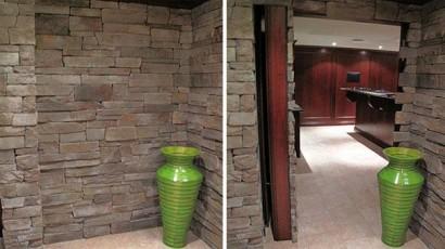 Habitación escondida en casa