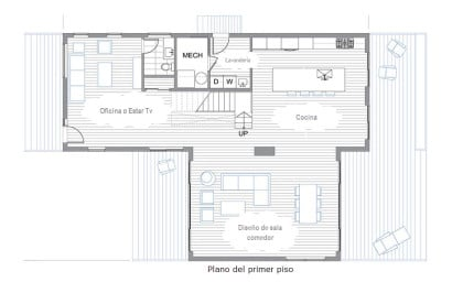 Planos de dos pisos 1